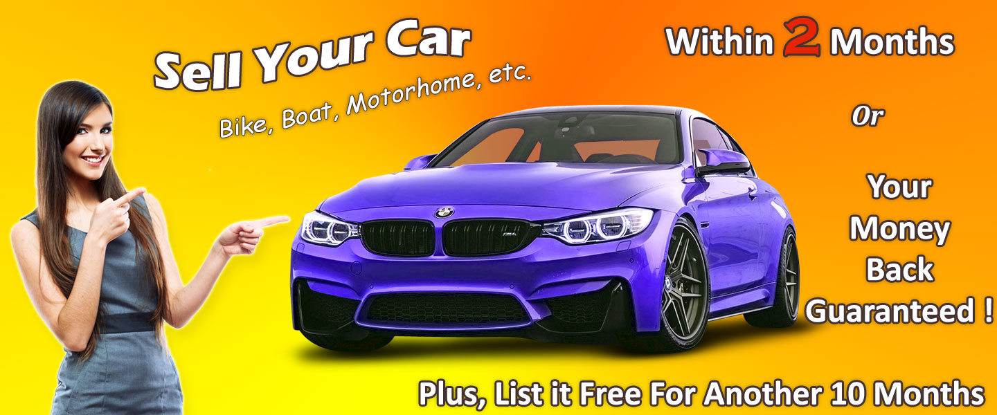 U Sell Cars | Sell Your Car, Bike, Boat, etc. within 2 months or your money back guaranteed! Plus, List it free for another 10 months on AutoFair.